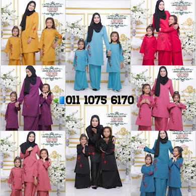 BAJU KURUNG LAMOURA QASEH COLLECTION
