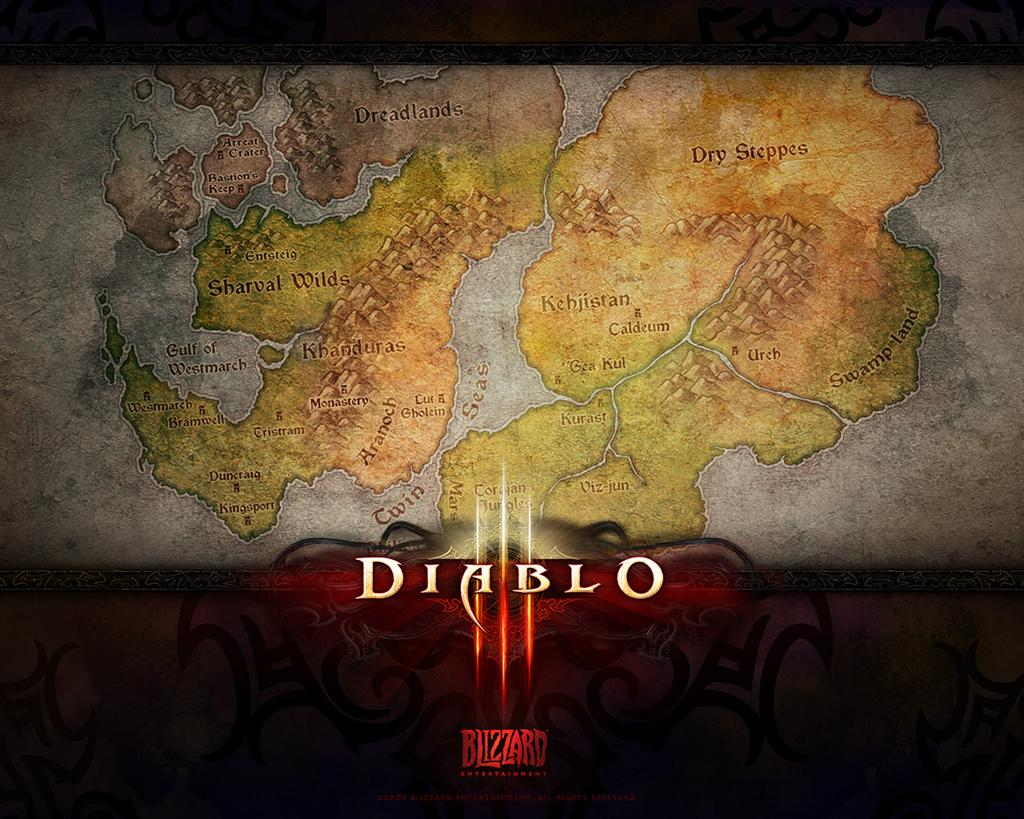 Diablo HD & Widescreen Wallpaper 0.0420817618504765