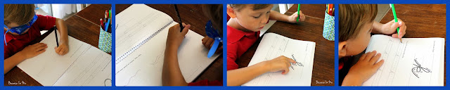 teaching precursive writing to preschoolers and older kids