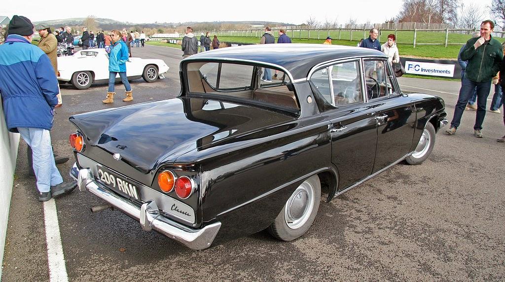 Classic Car Wallpaper - Ford Consul Classic