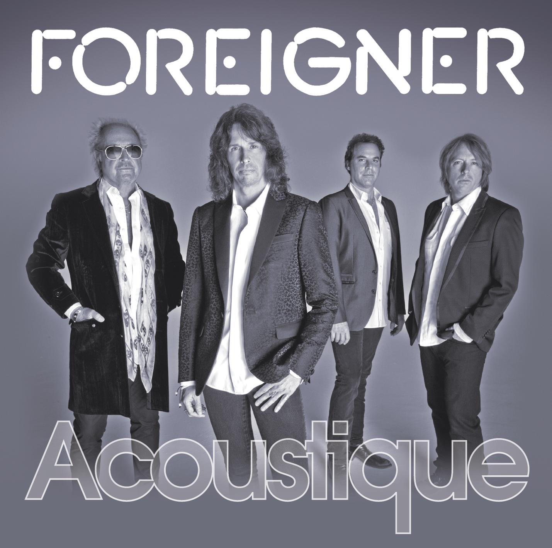 Foreigner release Acoustique on 26 September 2011