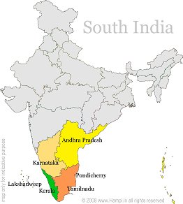 South India simple stories People and weird notions about south India