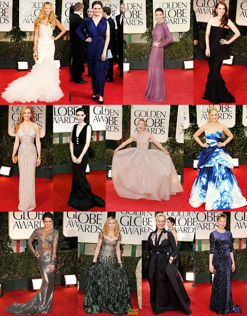 Golden Globes Fashion: Let's Begin With The Bad