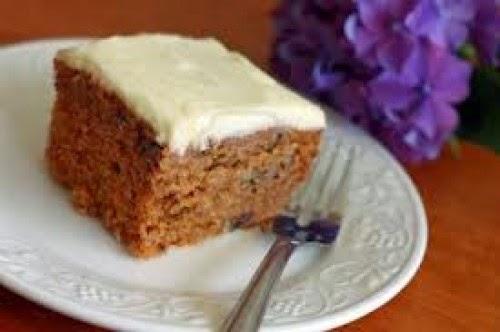 Cuadrados de Torta de Zanahoria