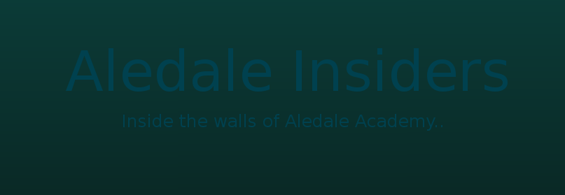 Inside the walls of Aledale...