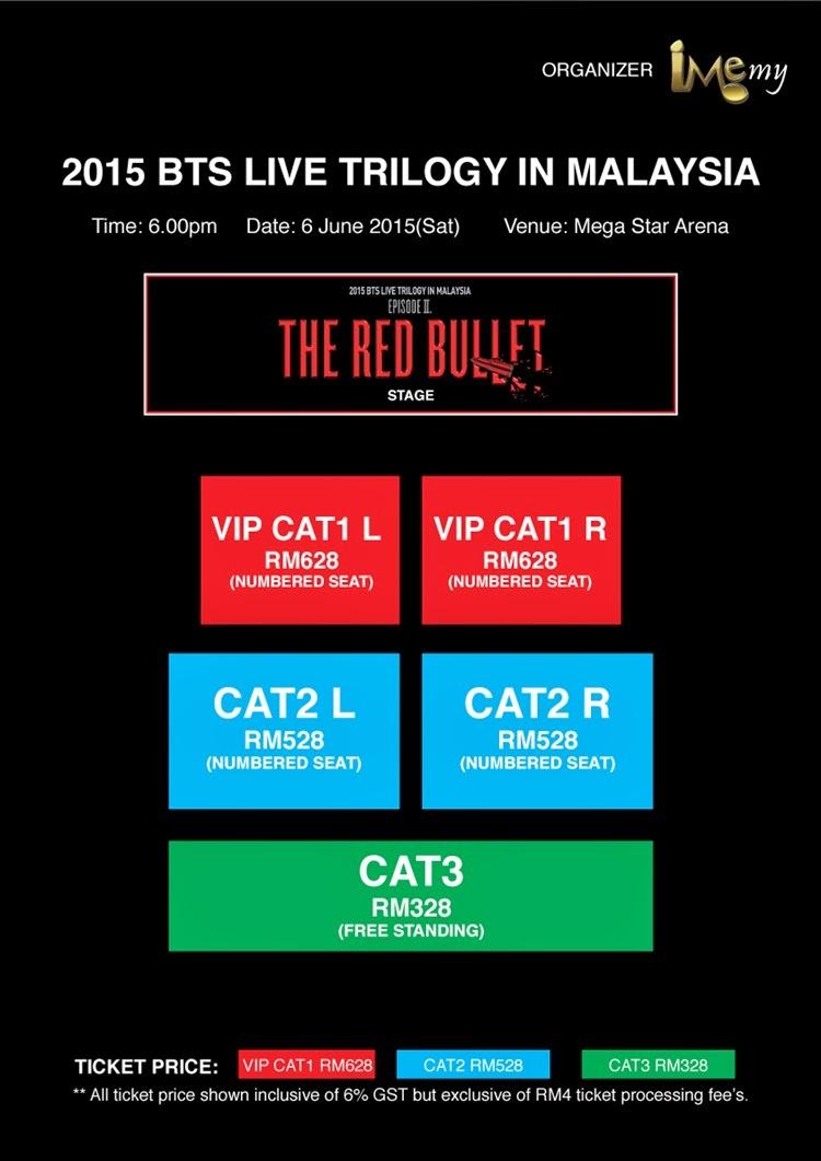 malaysia, tiket, konsert, bts, peminat, kwc,