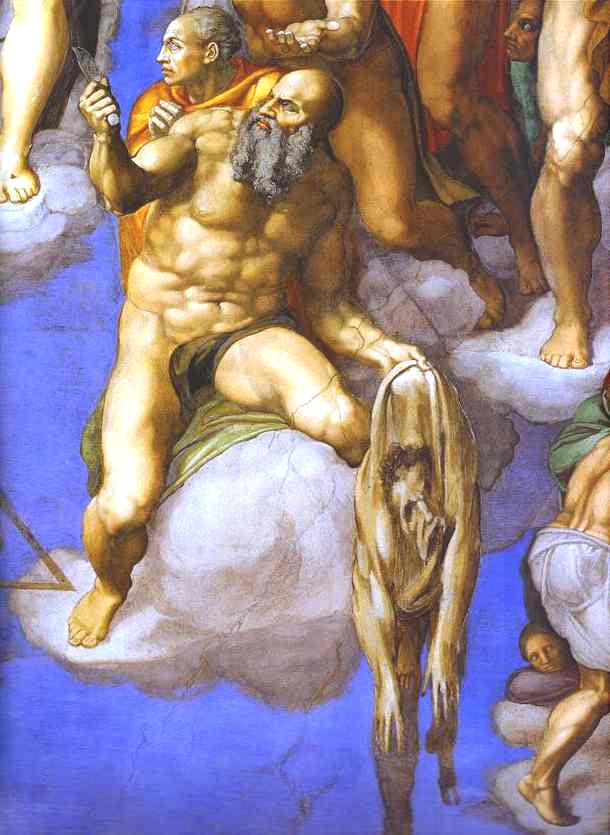 Genios de la Pintura, Escultura... Michelangelo--Juicio-Final-