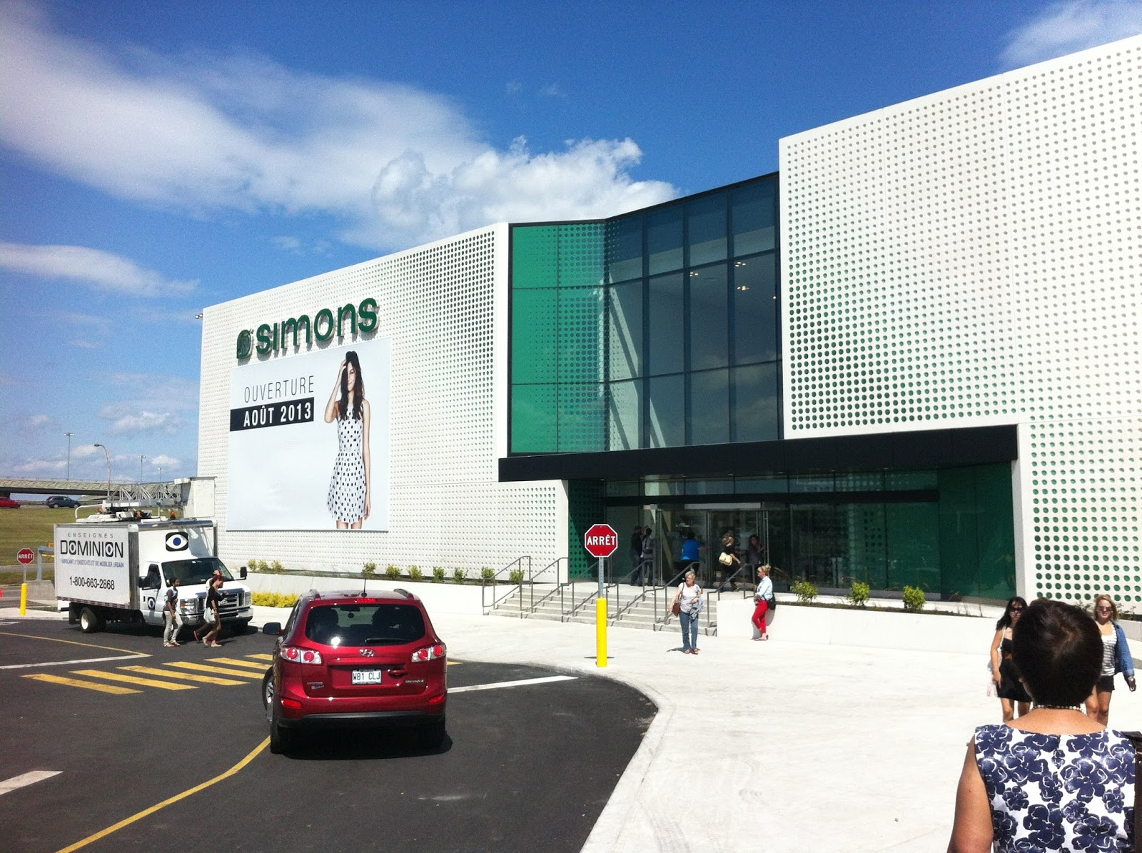 Reason #2: I got to check out a very special project held in collaboration between Simons and En Masse.