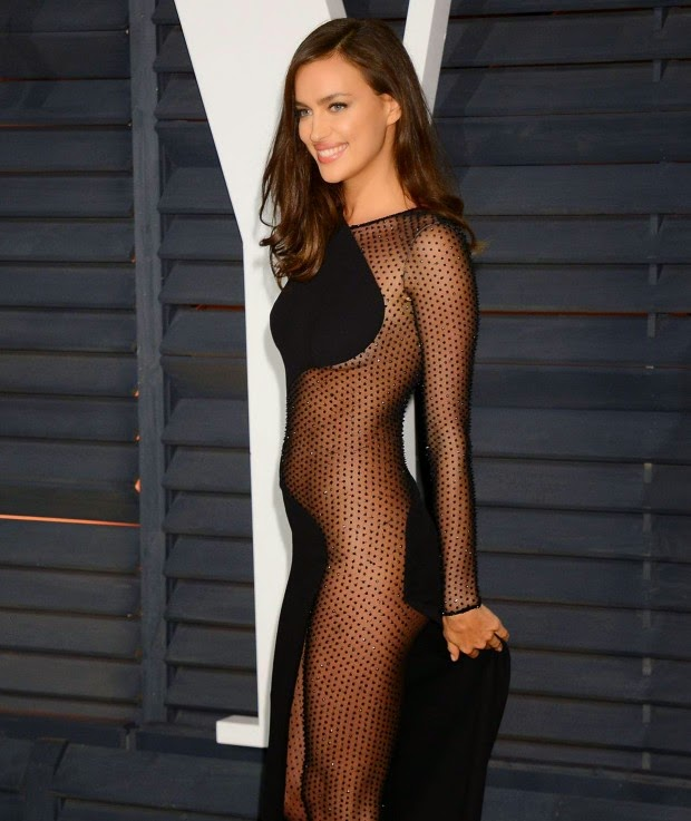 Irina Shayk Stunned In A See Through Gown At The Oscarss Vanity Fair on oscar presenters