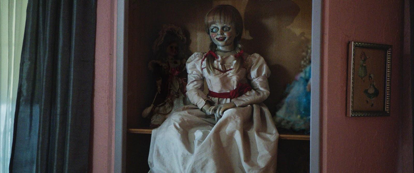 4 Clips of Annabelle : Teaser Trailer