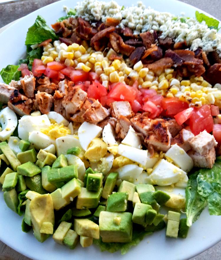 SteakNPotatoesKindaGurl: Cobb Salad