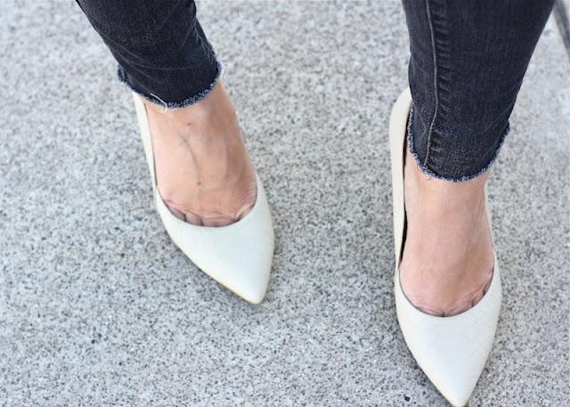 Aldo bone heels