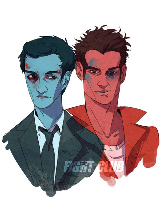 fight club por wiccimm
