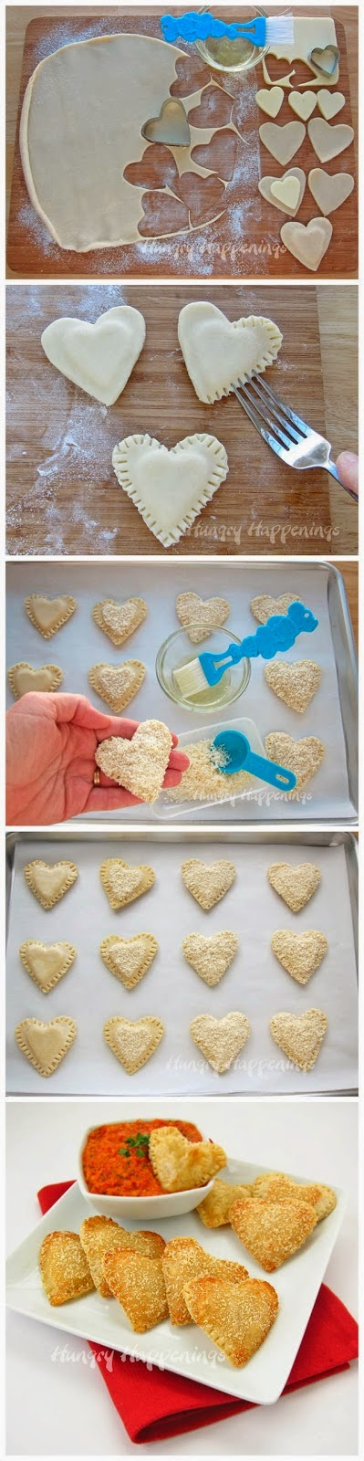 Mozzarella Cheese Filled Hearts