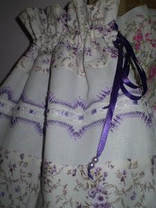 Saquinho porta toalhas