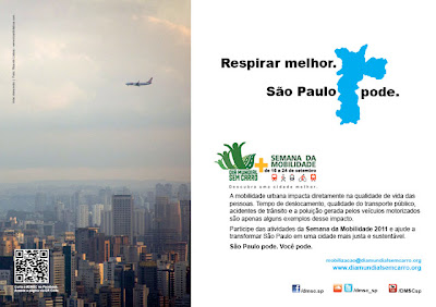 Semana da Mobilidade 2011 - São Paulo pode