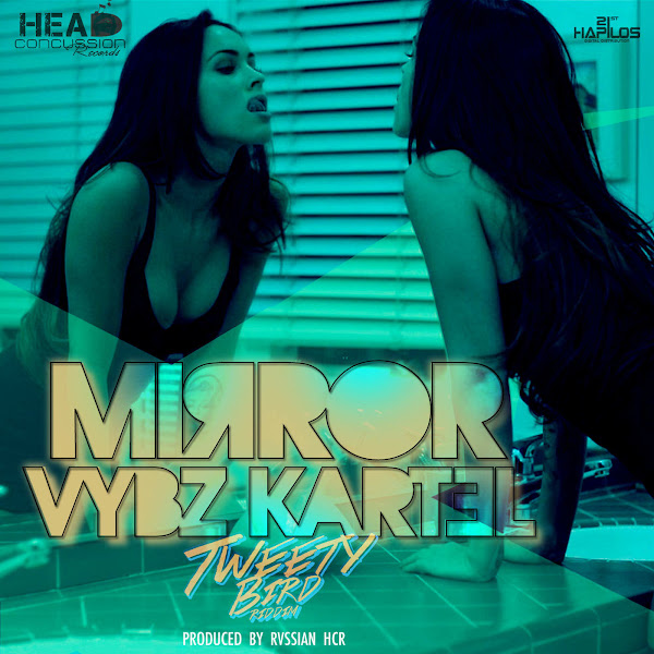Vybz Kartel - Mirror - Single Cover