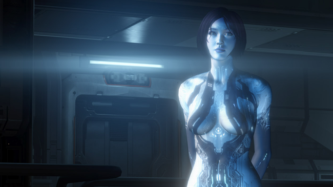Bungie.net : Off Topic: The Flood : Cortana's face from Halo 4 looks similar to Scarlet Johansson