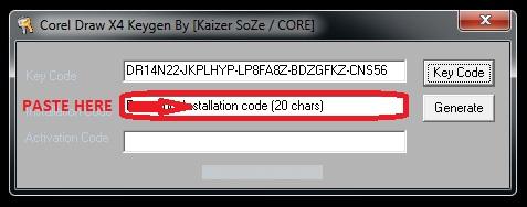 psi key corel draw x5