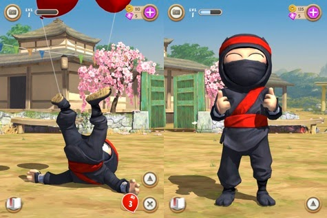 Clumsy Ninja full apk game