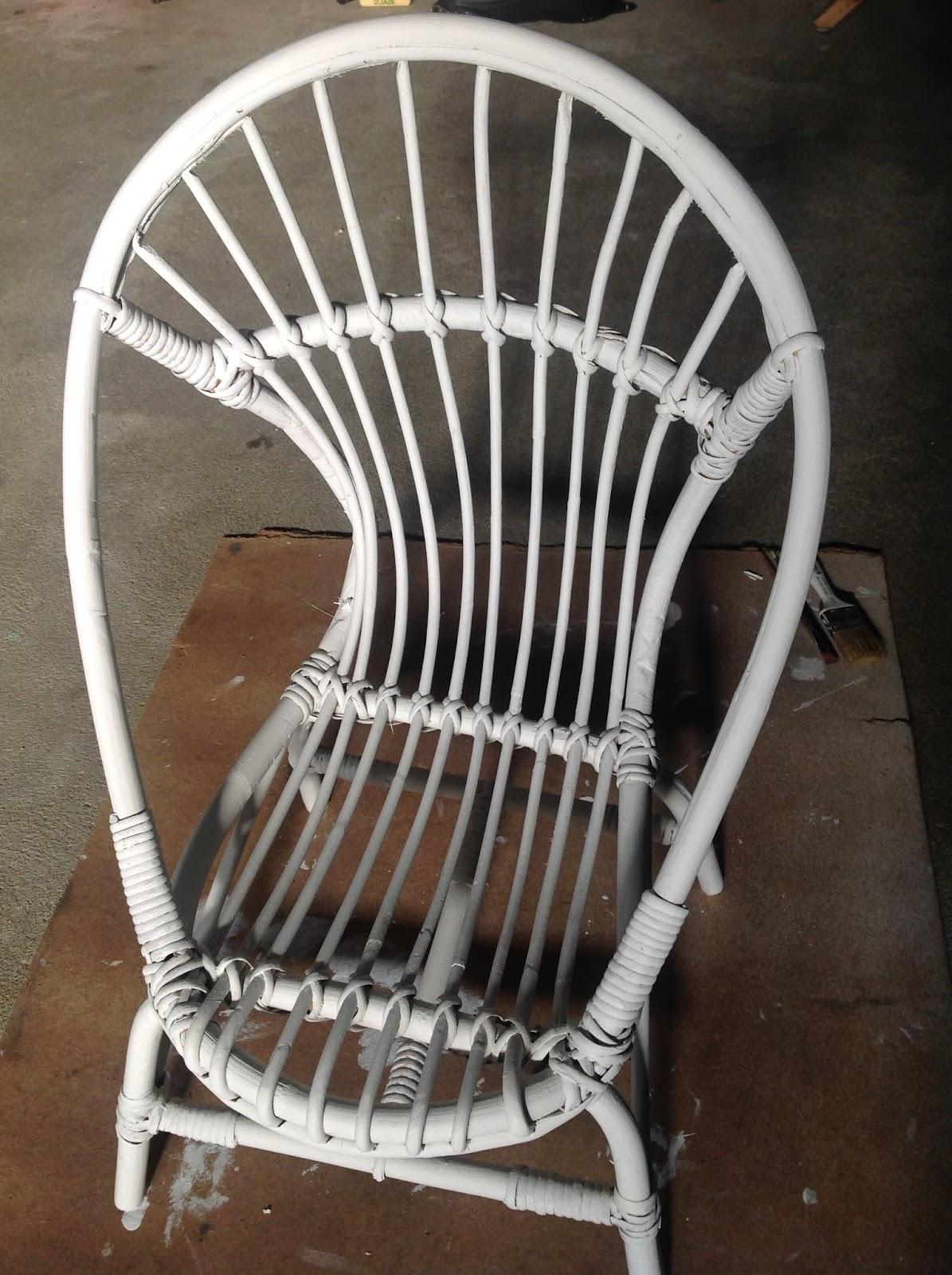 Customiser un fauteuil en rotin pour enfant - Customiser un fauteuil en tissu ...