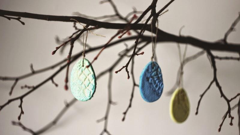 Ditecz Ozdoby Na Wielkanoc Z Masy Solnej