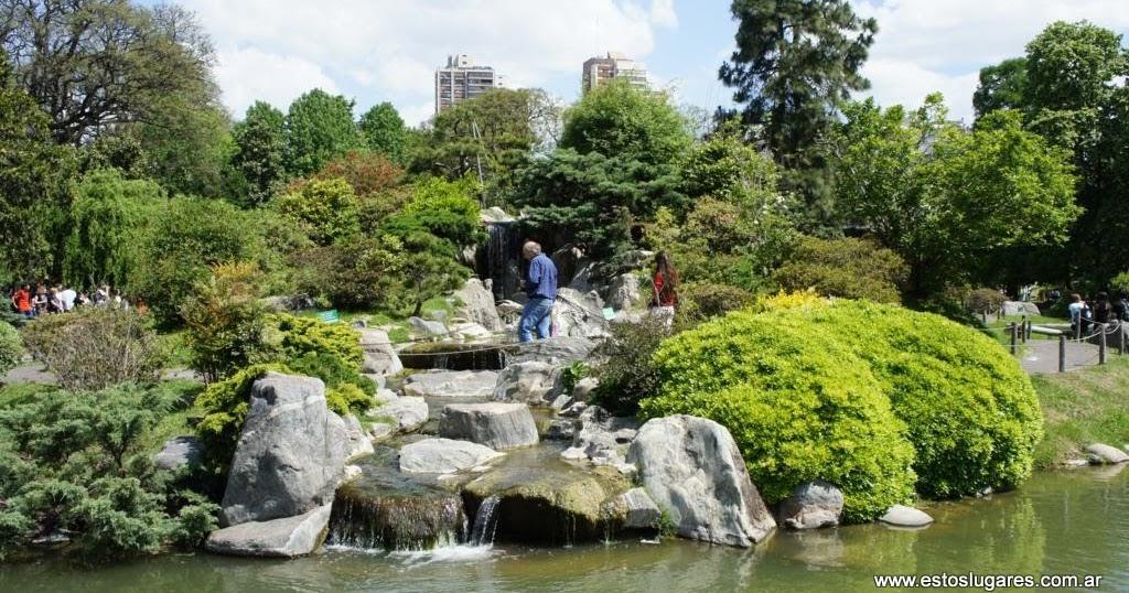 Estos lugares jard n japones palermo Jardin japones informacion