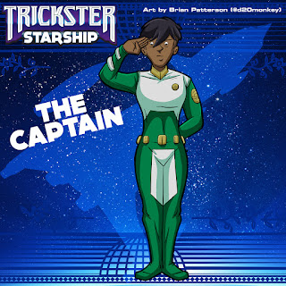 Trickster Starship - The Captain