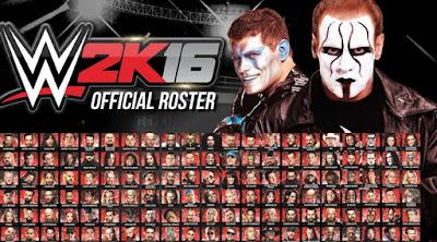 Cara Membuka Semua Karakter Game WWE 2K16 PS3, Xbox 360, PS4 dan Xbox One