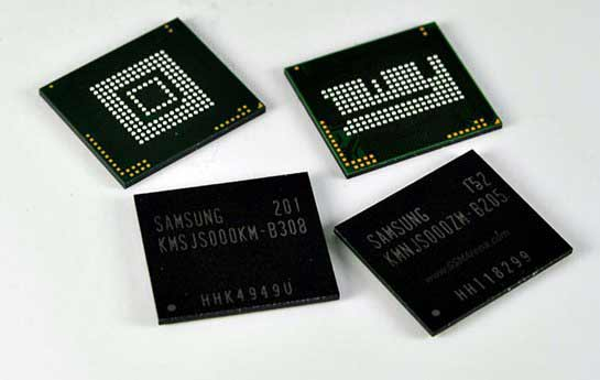 Samsung Now Producing Industry&#8217;s first Highest Density Mobile LPDDR2 Memory, Using 20nm-class Technology