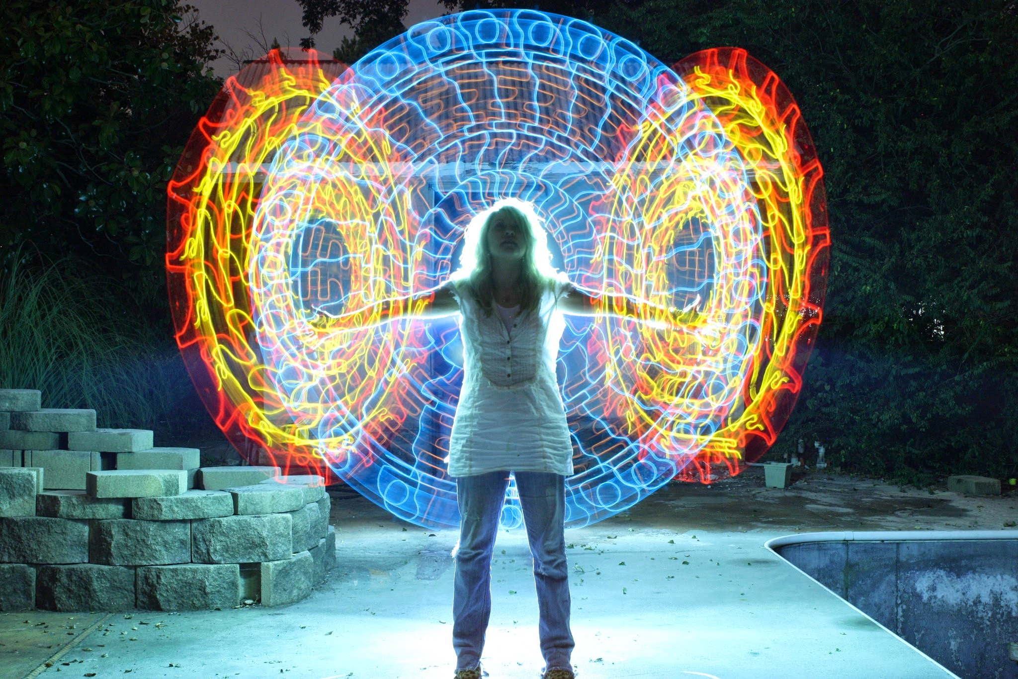 Simply Creative: Light Paintings by Wes Whaley