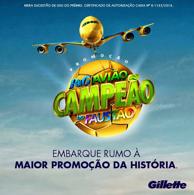 Promoção: P&G Avião Campeão do Faustão – 7ª edição