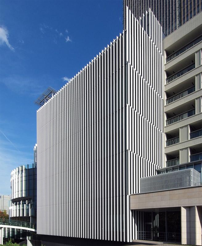 My Architectural Moleskine 174 Kengo Kuma Suntory Art Museum