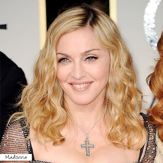 madonna+golden+globes+2012 Easy Tricks To Create Golden Globes Hairstyles!
