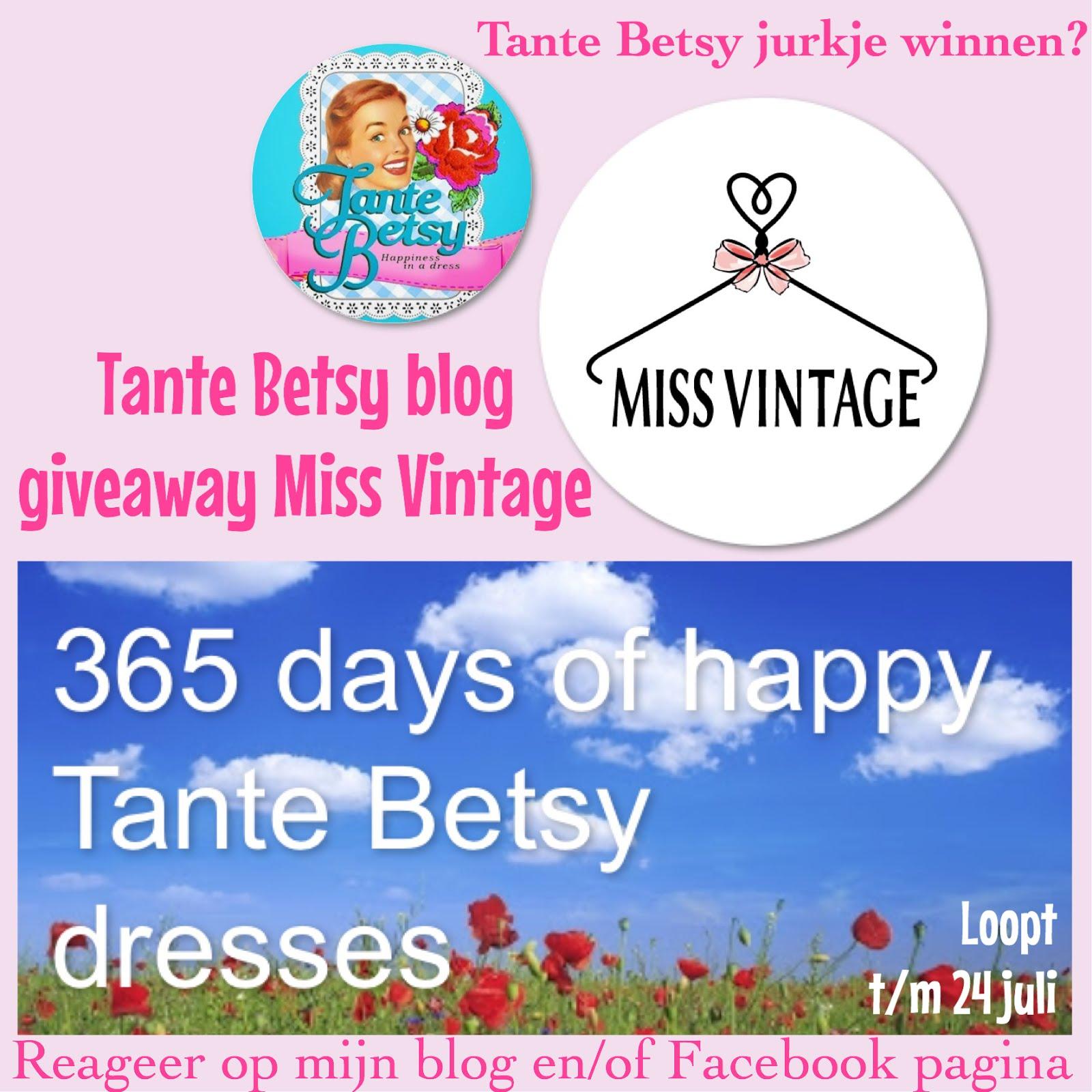 Tante Betsy blog giveaway Miss Vintage
