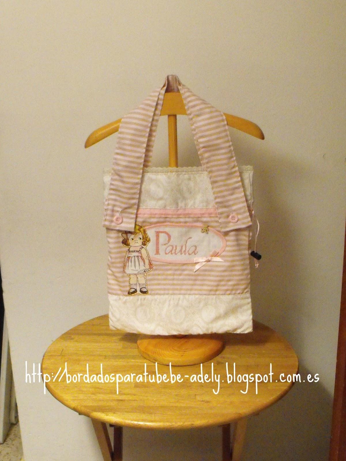 Regalos originales infantiles personalizados bordados - Bolsas para ropa ...
