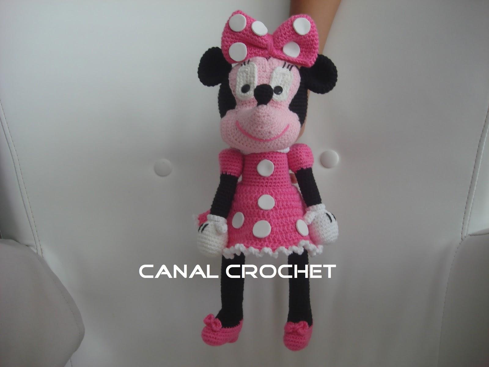 Patron Amigurumi Baby Minnie : CANAL CROCHET: Minnie amigurumi patron libre