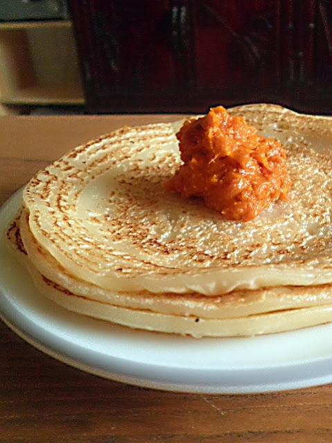 Rice Flour Crepes Recipe @ http://treatntrick.blogspot.com