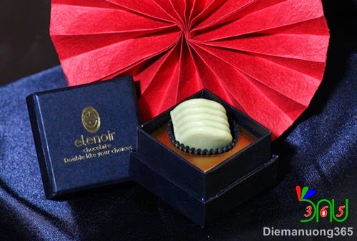 Ngọt ngào hương vị Chocolate Tofu tại Elenoir