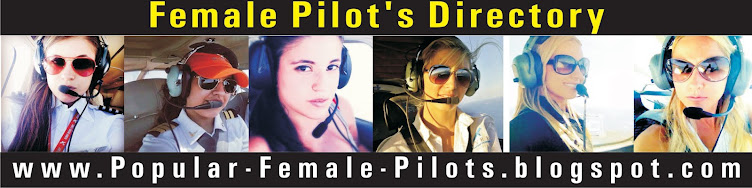 Most Popular Female Pilots from all Over the World