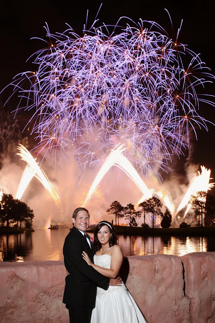 Walt Disney World EPCOT Fireworks