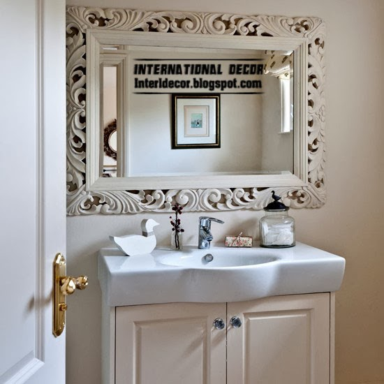 unique bathroom mirror frames backlit bathroom mirror bathroom mirror