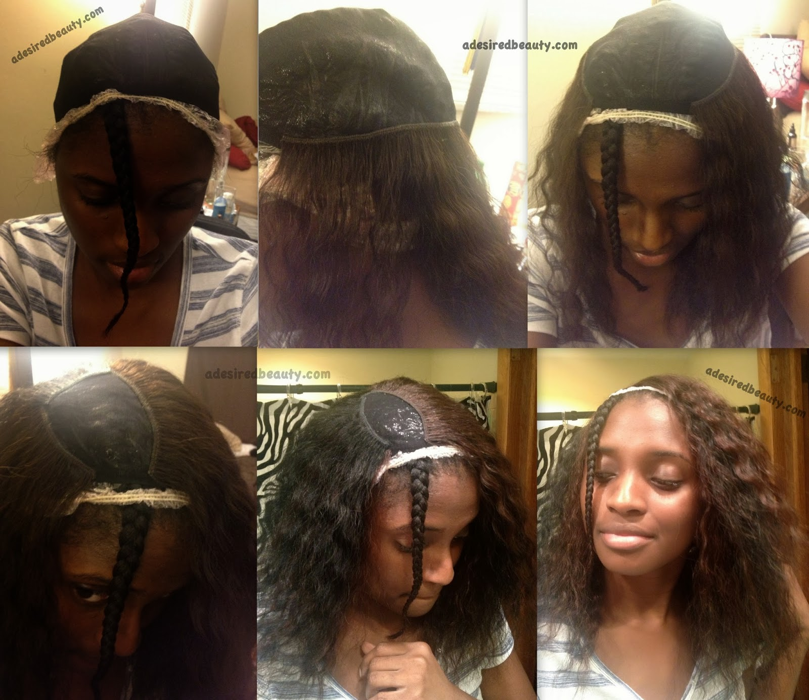 Diy 1st Quickweave Wig A Desired Beauty
