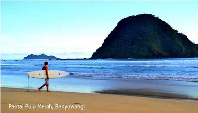 Keunikan Pantai Pulo Merah Banyuwangi