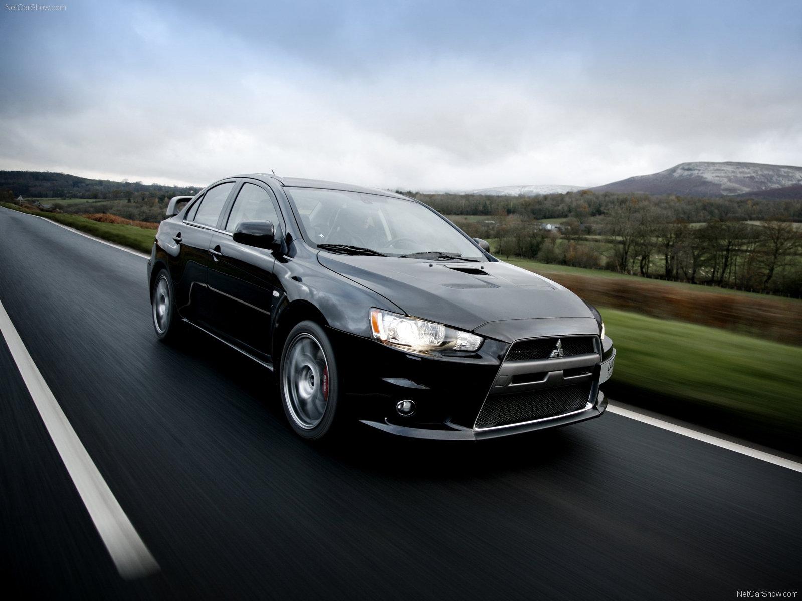 Mitsubishi Evo X New Car Girl