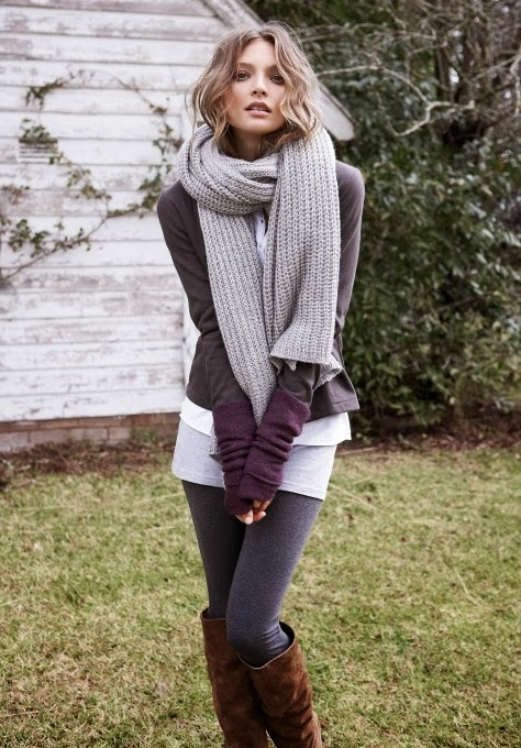 Cute casual fall fashion with leggings
