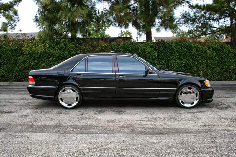 Mercedes-benz w140 s600 w12 - b89
