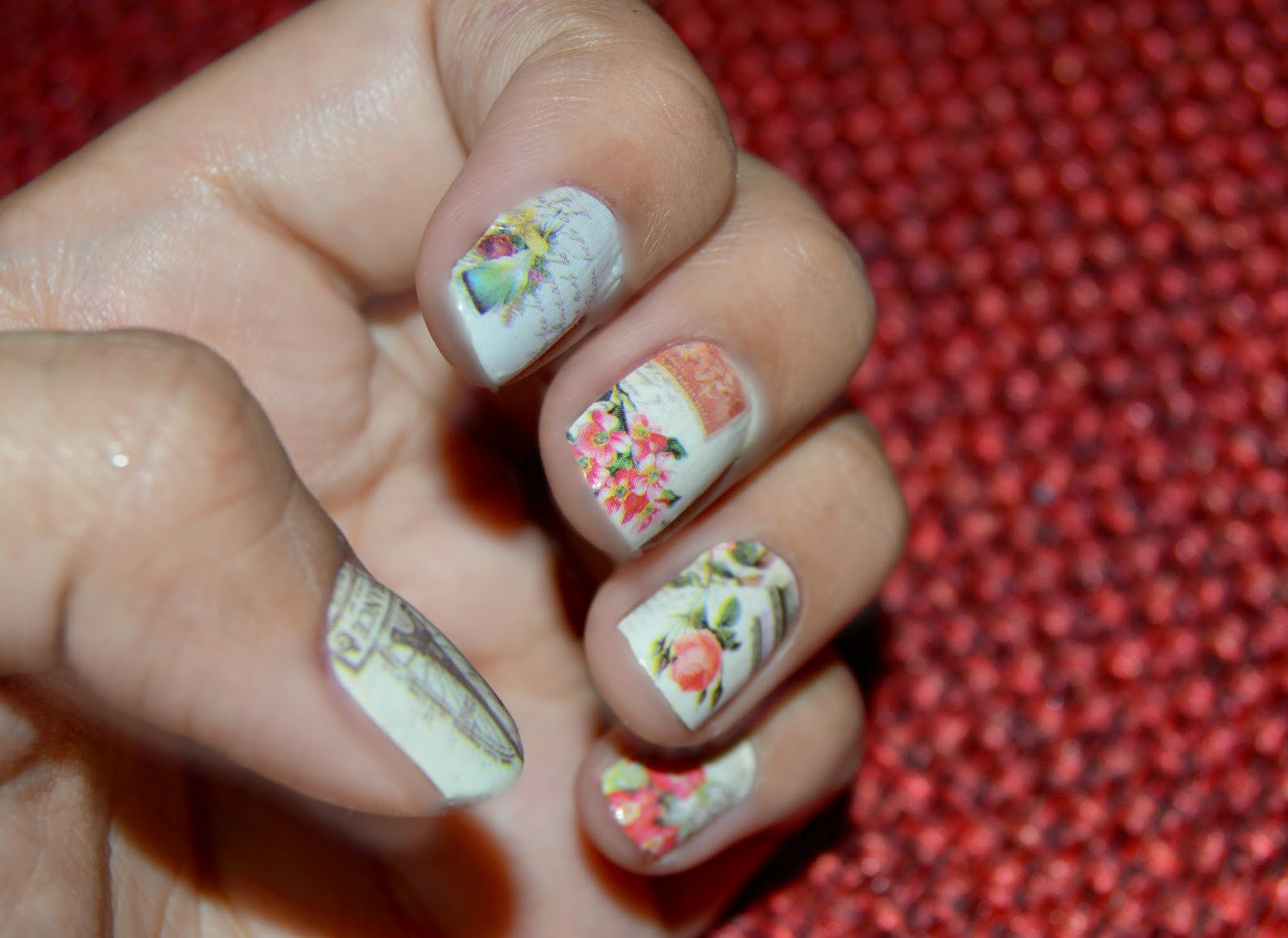 Born Pretty Store nail patch/nail art stickers- Review