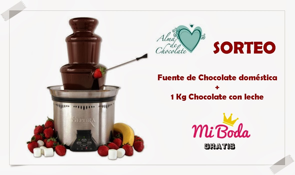 alma de chocolate fuentes de chocolate candy bar para bodas y eventos sorteo