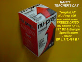 Happy Teacher's Day, Sebillion Terima Kasih Tongkat Ali Nu-Prep 100 is your new best friend